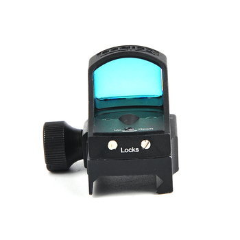 Docter III Mini Red Dot Sight Optik Tüfek için Holografik Sight Oto Parlaklık Sight Avcılık Kapsamları Refleks Sight Airsoft